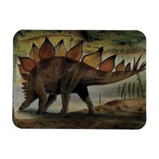 Vintage Dinosaurier, Stegosaurus, Schwanz mit Magnet