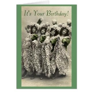 Vintage Dose kann Spaß-Geburtstags-Karte Grußkarte