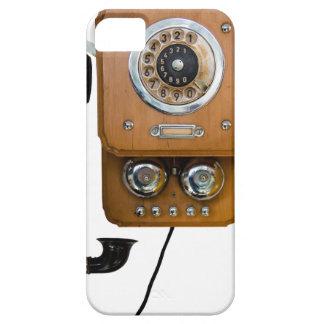Vintage Drehskala-Landlinie Telefon iPhone 5 Cover