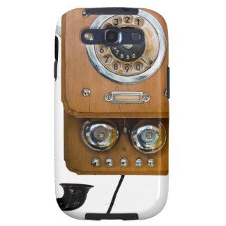 Vintage Drehskala-Landlinie Telefon Samsung Galaxy S3 Etui