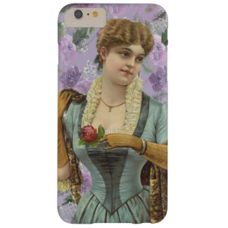 Vintage Edwardian Dame Phone Case Barely There iPhone 6 Plus Hülle