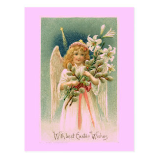 Vintage Engels-Ostern-Postkarte Postkarte