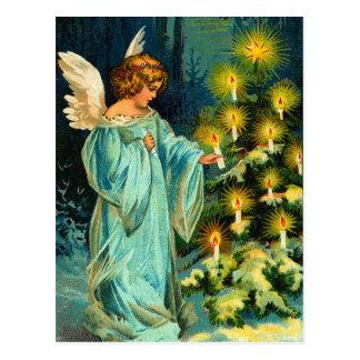 Vintage Engels-Weihnachtspostkarten Postkarte