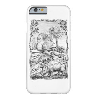 Vintage Eroneous Tier-Illustration Barely There iPhone 6 Hülle