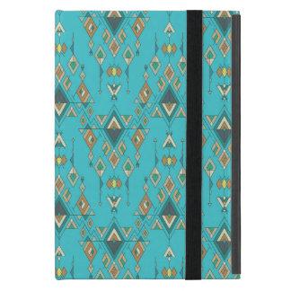 Vintage ethnische Stammes- aztekische Verzierung Etui Fürs iPad Mini