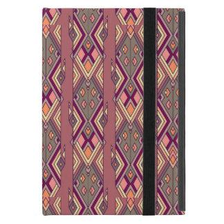 Vintage ethnische Stammes- aztekische Verzierung iPad Mini Etui