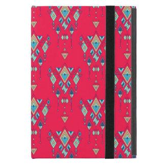 Vintage ethnische Stammes- aztekische Verzierung iPad Mini Etuis