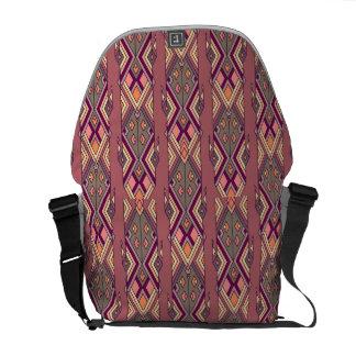 Vintage ethnische Stammes- aztekische Verzierung Kurier Taschen