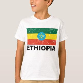 Vintage Flagge Äthiopiens T-Shirt