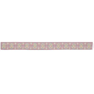 Vintage flower pattern haarschleife