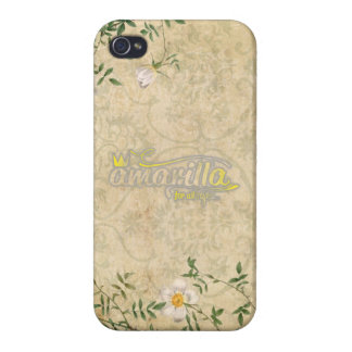 Vintage Flowers Coques iPhone 4/4S