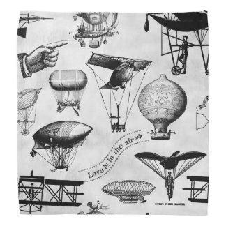 Vintage Flugzeuge VA1c Kopftuch