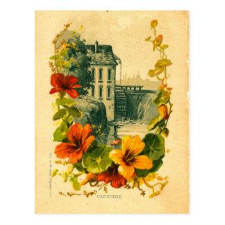 Vintage französische postkarte