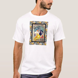 Vintage französische Werbung T-Shirt