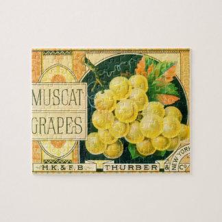 Vintage Frucht-Kisten-Aufkleber-Kunst,