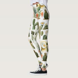 Vintage Gamaschen des Kaktus-| Leggings