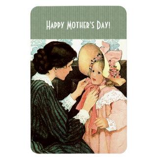 Vintage Geschenk-Magneten der Kunst-Mutter Tages Magnet