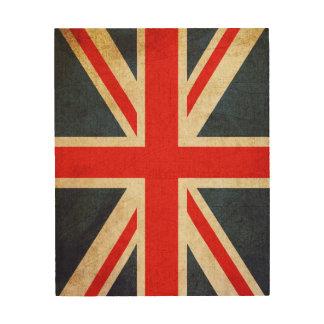Vintage Gewerkschafts-Jack-britische Holzwanddeko