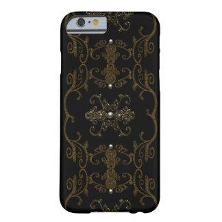 Vintage gotische Eleganz-Juwelen Barely There iPhone 6 Hülle