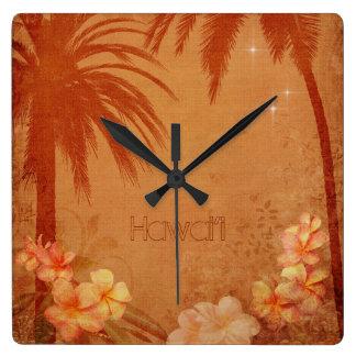 Vintage hawaiische Uhr