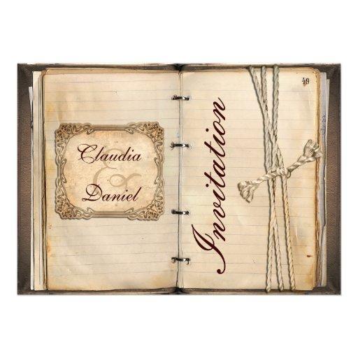 vintage hochzeit einladungskarten 12 7 x 17 8 cm einladungskarte zazzle. Black Bedroom Furniture Sets. Home Design Ideas