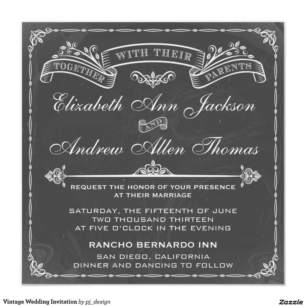 Hochzeits-Einladungen San Diego