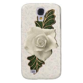 Vintage Hochzeits-Rose Galaxy S4 Hülle