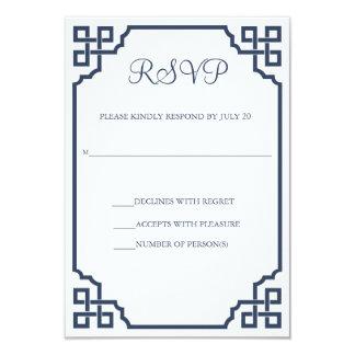 Vintage Hochzeits-Wartekarte 8,9 X 12,7 Cm Einladungskarte