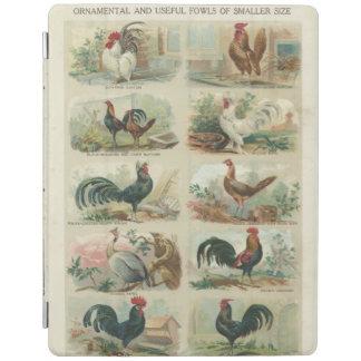 Vintage Hühner iPad Hülle