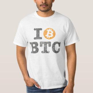 Vintage i-Liebe Bitcoin (i-Liebe BTC) T-Shirt