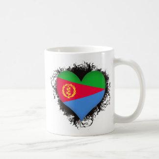 Vintage i-Liebe Eritrea Kaffeetasse