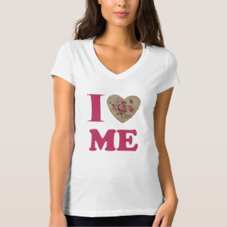 Vintage i-Liebe ich T - Shirt