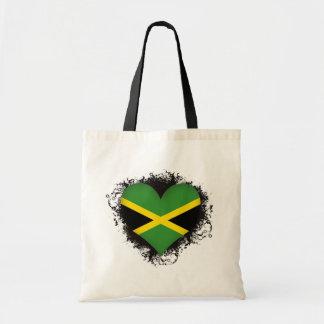 Vintage i-Liebe Jamaika Tragetasche