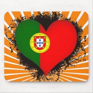 Vintage i-Liebe Portugal Mousepad