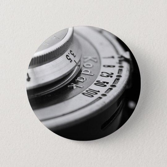 Vintage Kamera Runder Button 5,1 Cm