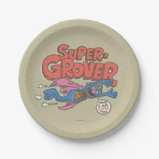 Vintage Kinder 1 Grover Pappteller