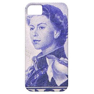 Vintage Königin Elizabeth Fidschi iPhone 5 Etuis