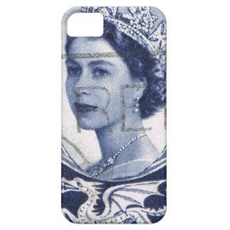 Vintage Königin Elizabeth Großbritannien iPhone 5 Case