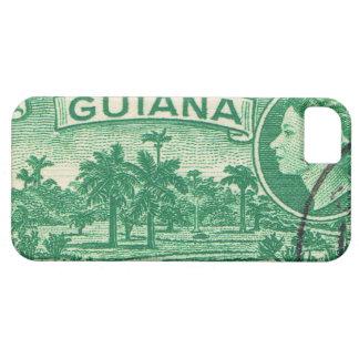 Vintage Königin Elizabeth Guayana Barely There iPhone 5 Hülle