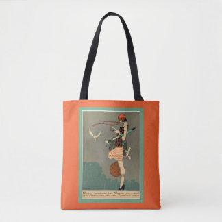 Vintage Kunst-Deko-Plakat-Taschen-Tasche Tasche