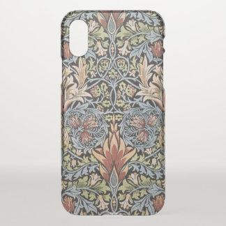 Vintage Kunst GalleryHD Williams Morris Snakeshead iPhone X Hülle
