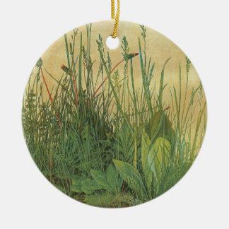 Vintage Kunst, großes Stück Rasen durch Albrecht Rundes Keramik Ornament