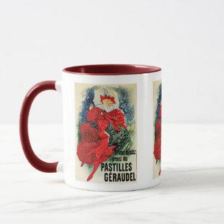 Vintage Kunst - Jules Cheret - Pastillen Geraudel Tasse