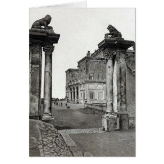 Vintage Landhäuser u. Gärten: Der Eingang Karte