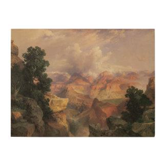 Vintage Landschaft, Grand Canyon durch Thomas Holzwanddeko