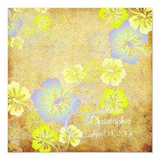 Vintage/Leis/Luau/hibiscusWedding Einladungen