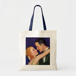 Vintage Liebe und Romance, Retro Hollywood-Filme Tragetasche