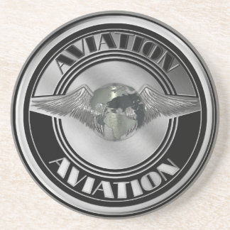 Vintage Luftfahrt-Kunst Untersatz