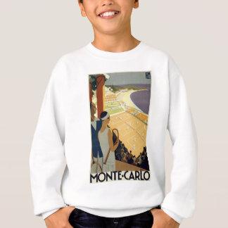 Vintage Monte Carlo Monaco Reise Sweatshirt