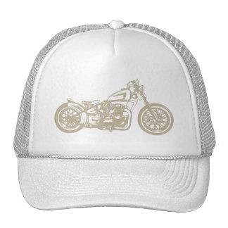 Vintage Motorrad-Illustration Truckermützen